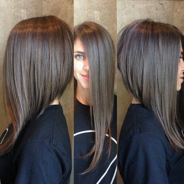Стрижки на длинные волосы 2017 женские вид сзади