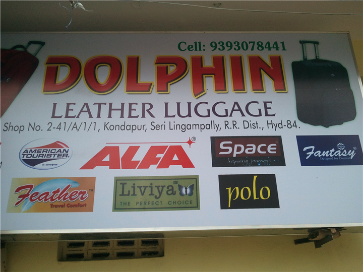 DOLPHIN       LEATHER LUGGAGE SHOP