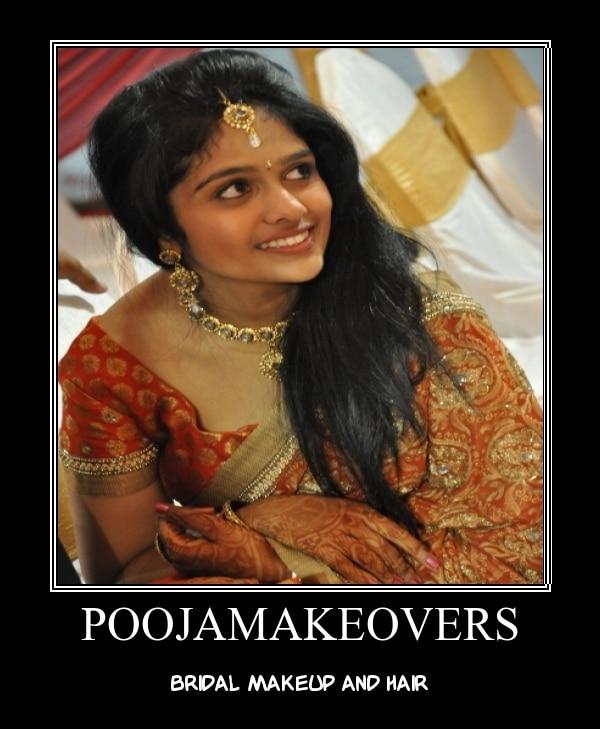 Pooja Make Overs