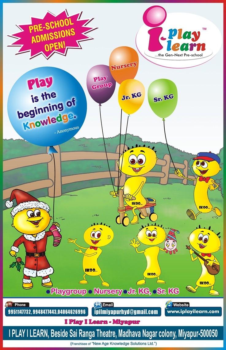 I Play I Learn Pre School - Miyapur