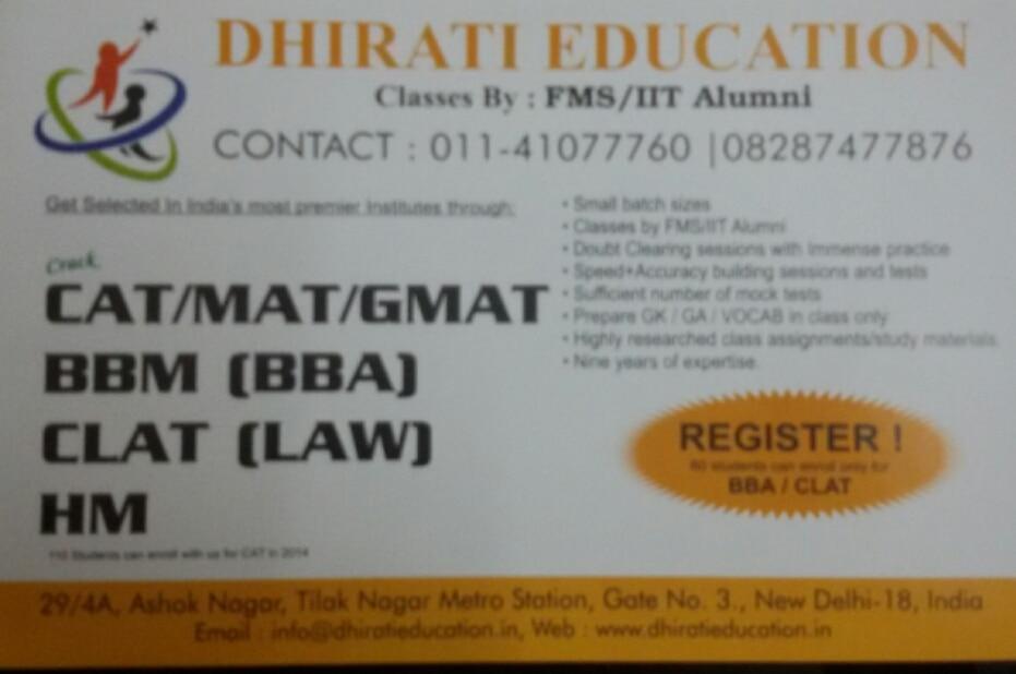 Dhirati Education +91 8287477876
