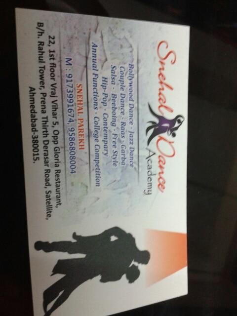 Snehal Dance Academy