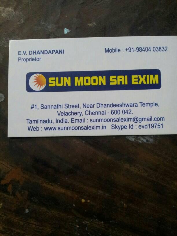 Sun moon sai exim