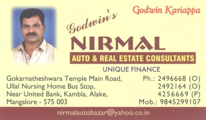Godwins Nirmal Auto & Real Estate Consultants