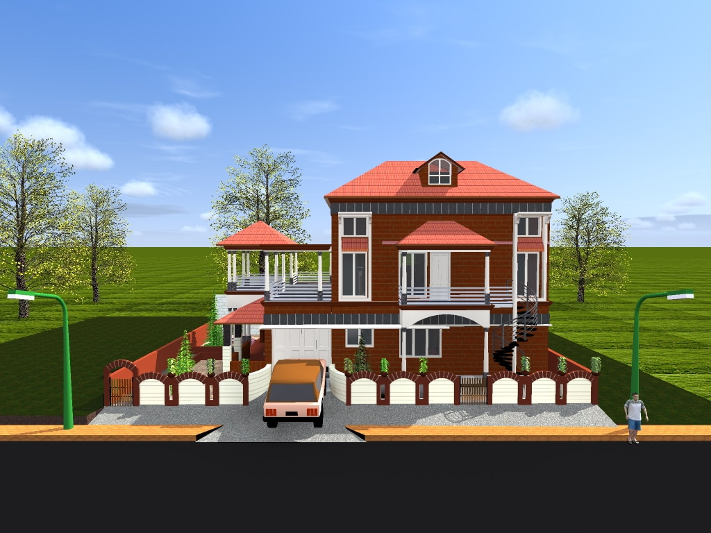 """3-D ARCHITECTURAL VISUALISATION AND CONSTRUCTION """"SURAJ CREATIONS"""""""