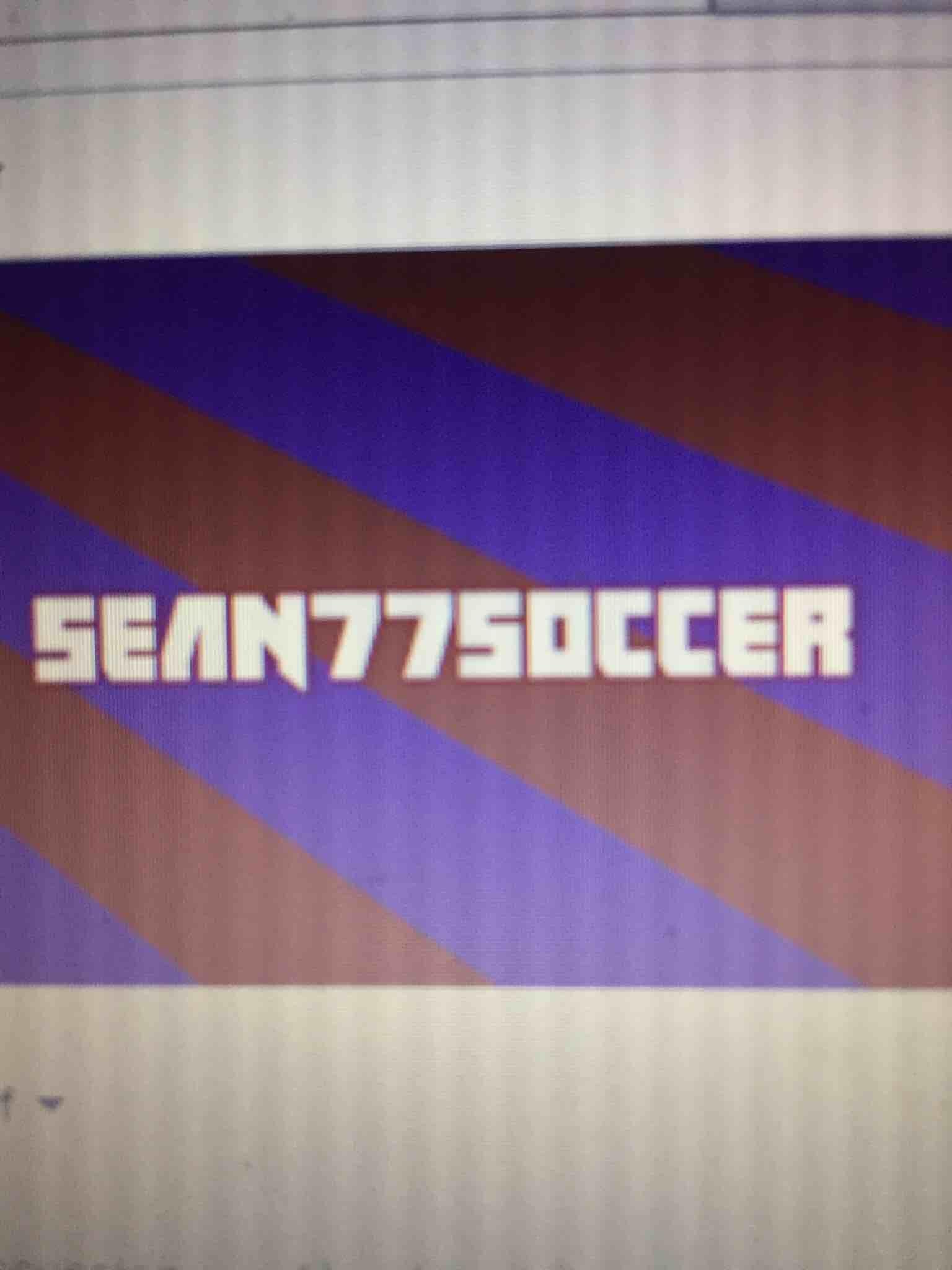 Sean77soccer Games