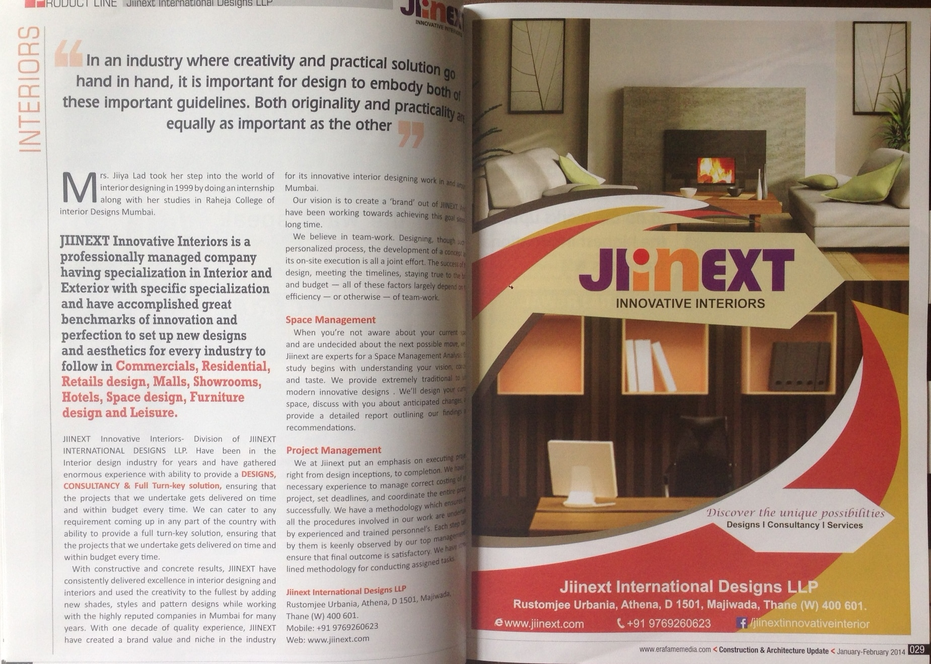 Jiinext International Designs LLP