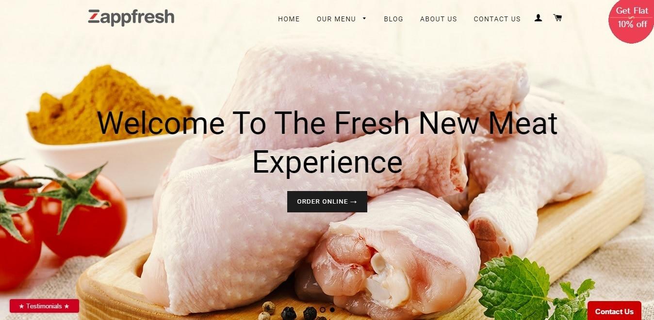 Zappfresh - Fresh Meat. Delivered