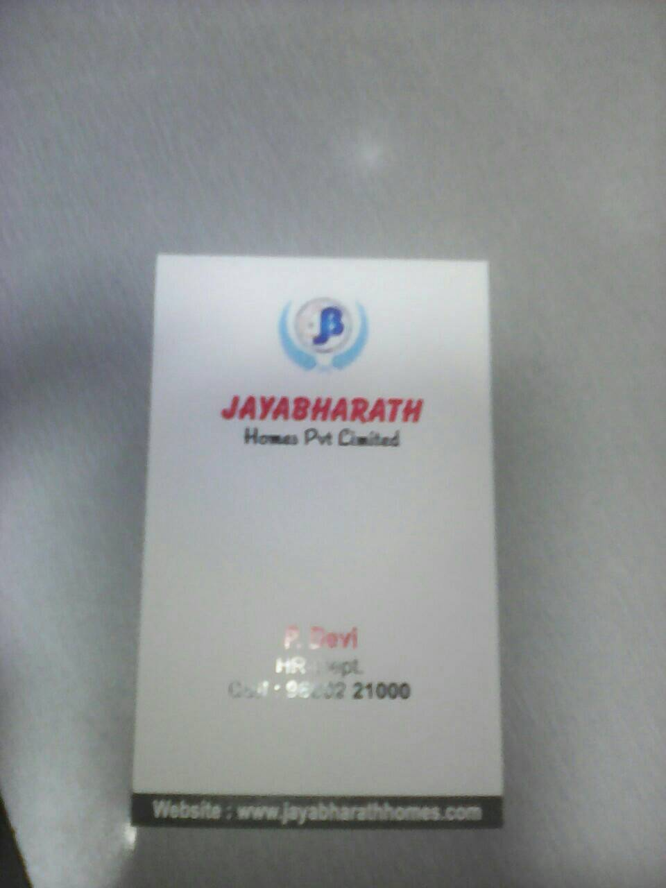 Jaya Bharath Homes Private Limited