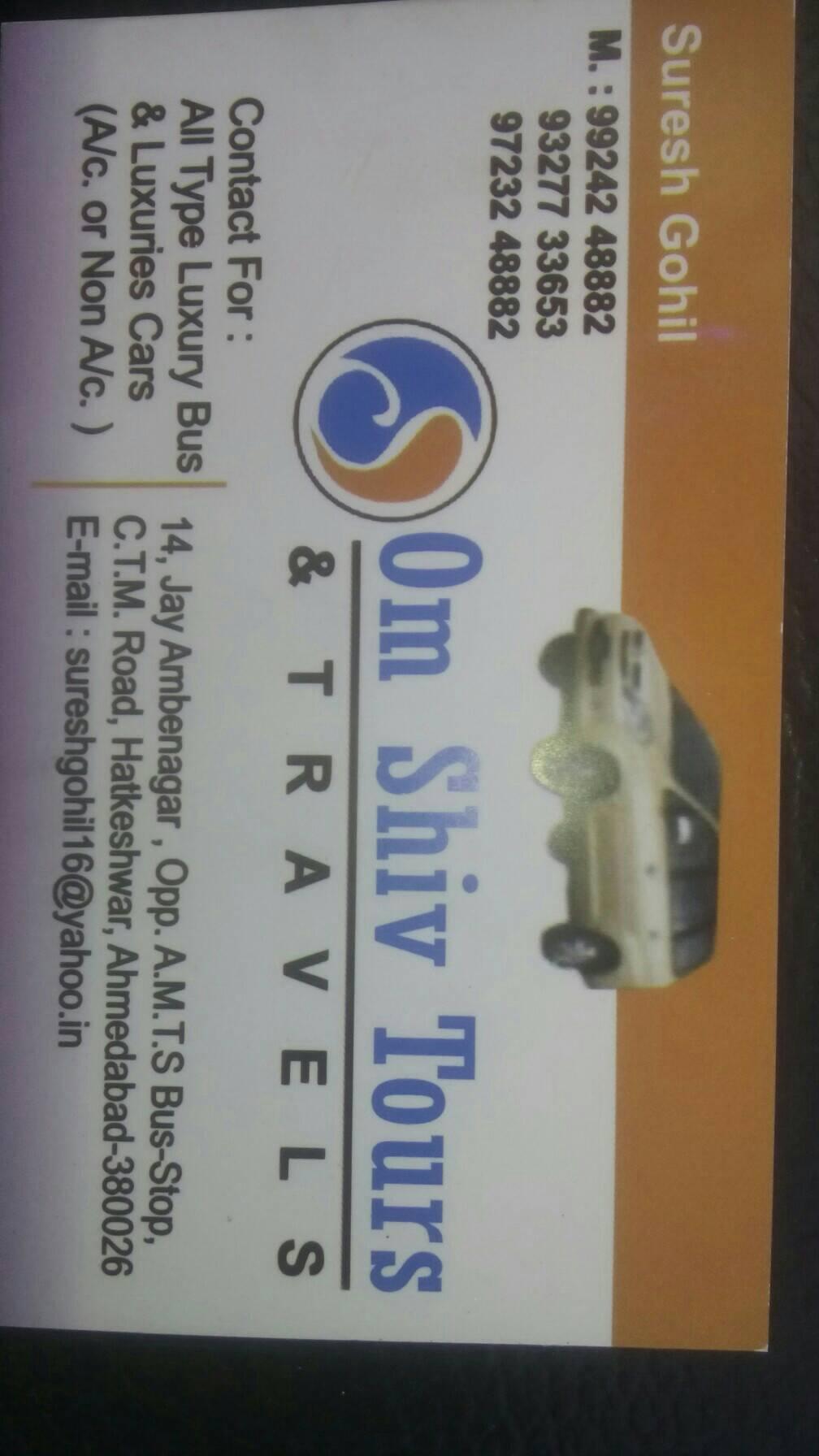 Om Shiv Tours & Travels