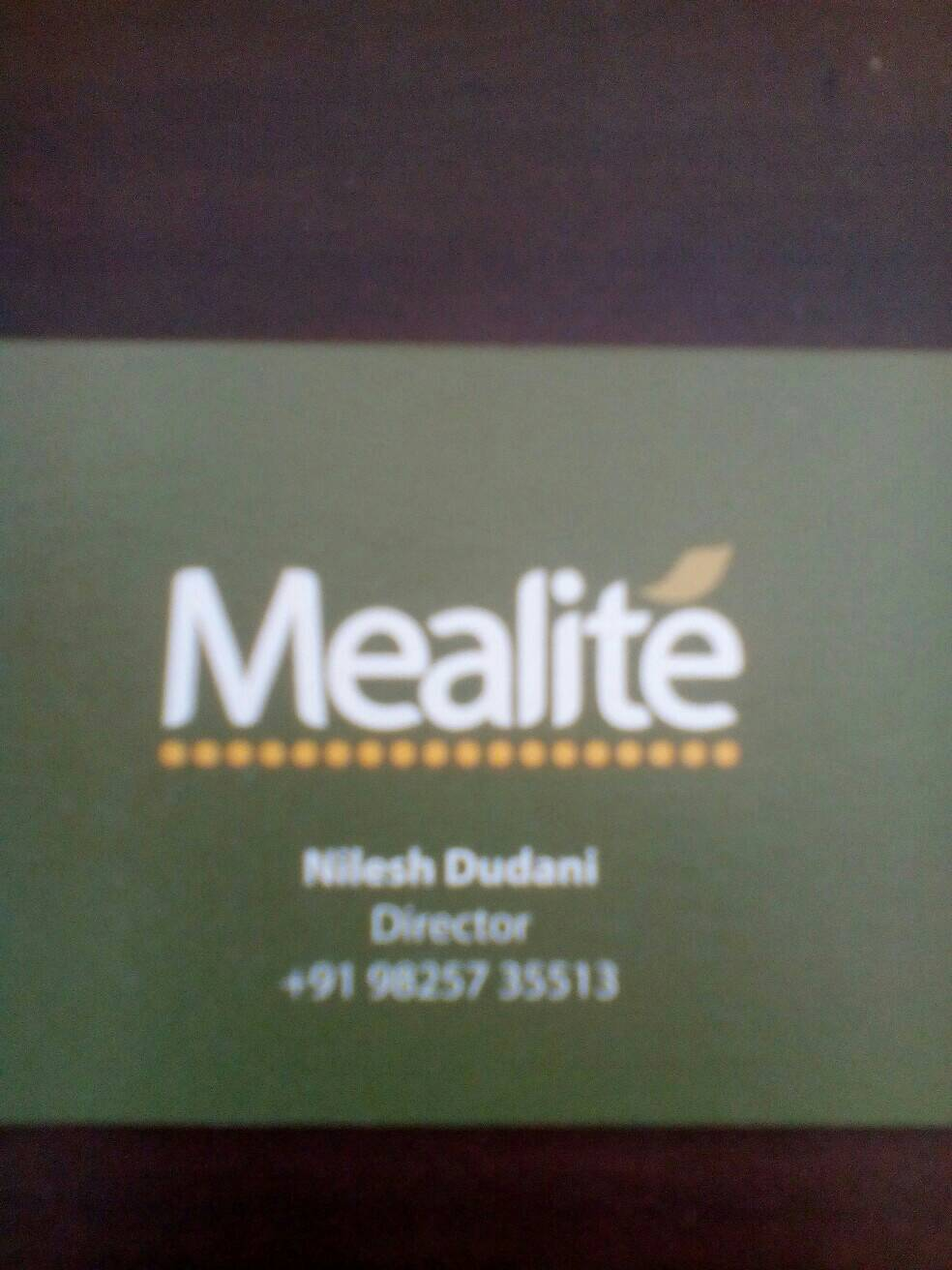 Mealite Food Pvt Ltd