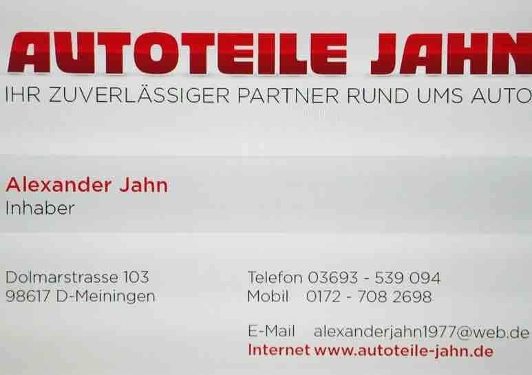 Autoteile Jahn