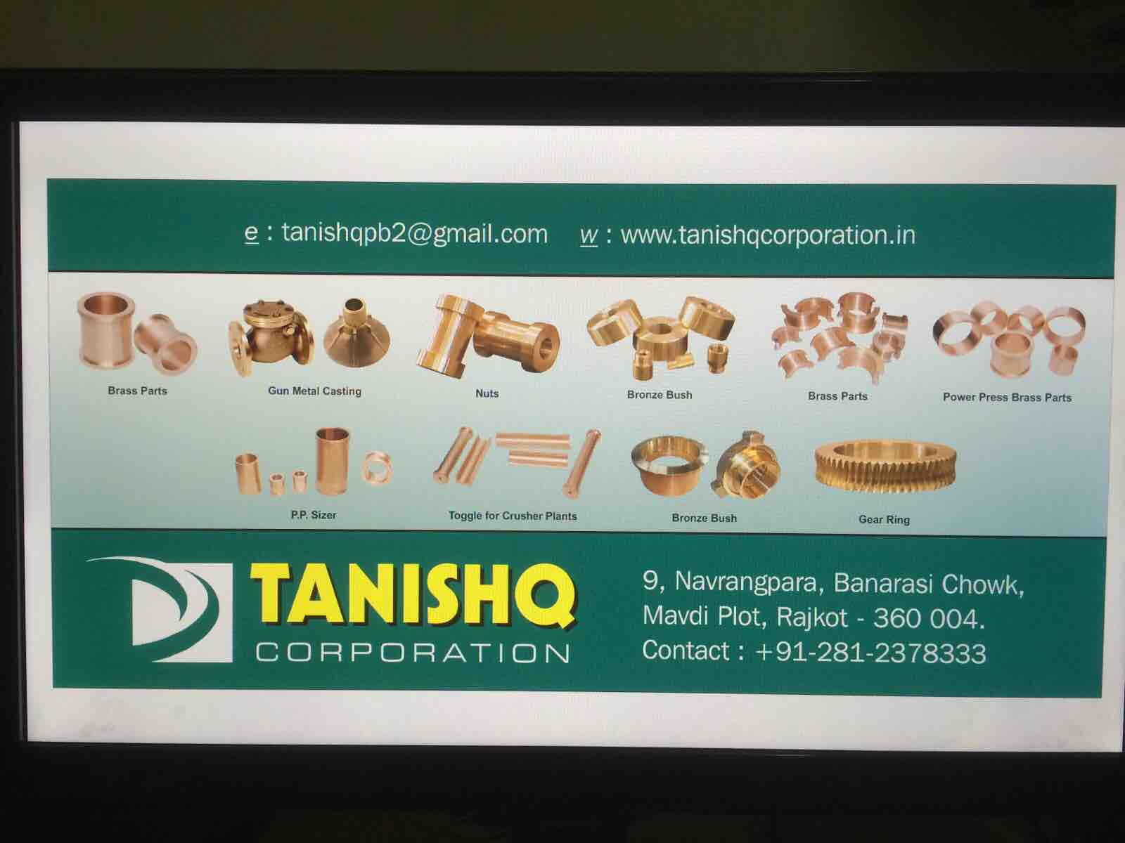 Tanishq Corporation