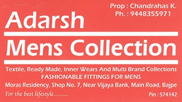 Adarsh Mens Collection