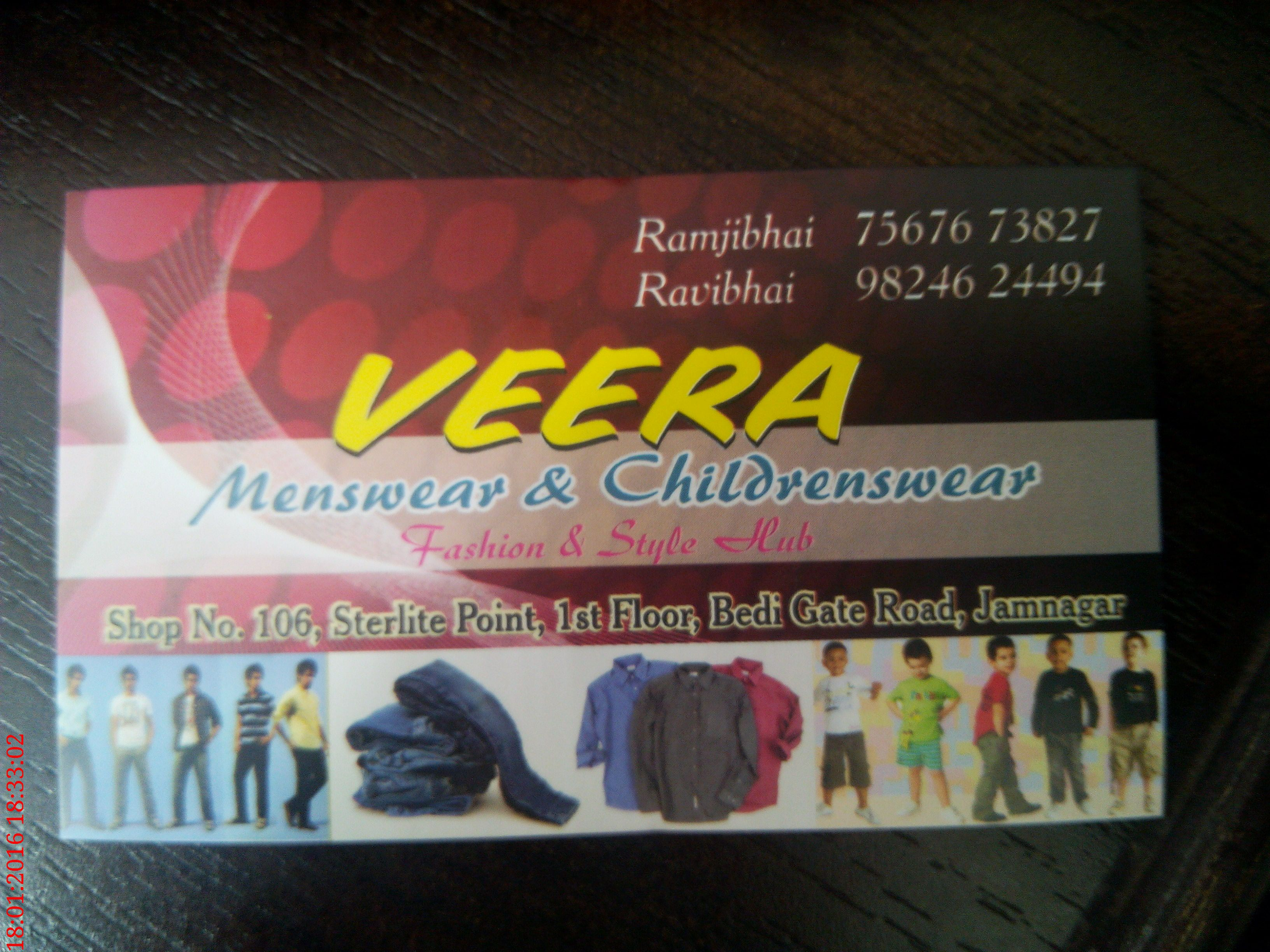 Veera Menswear & Childrenswear