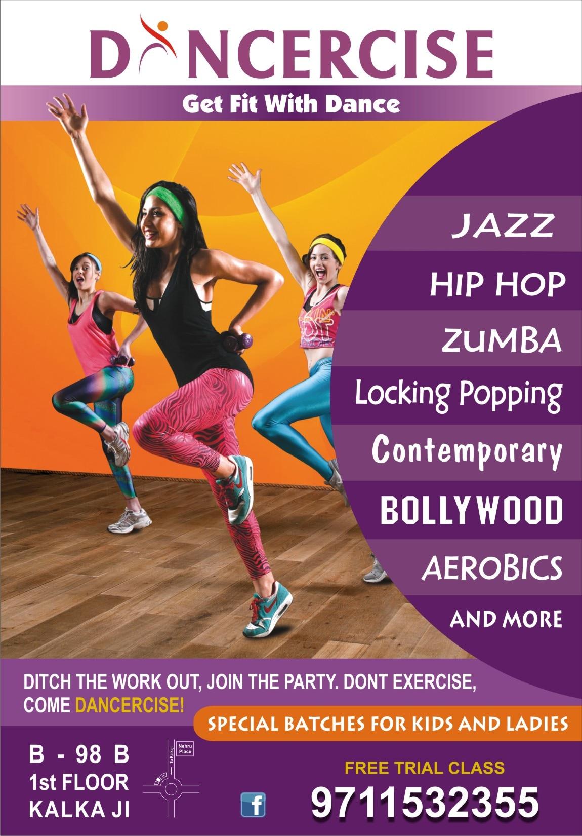 Dancercise +919711532355