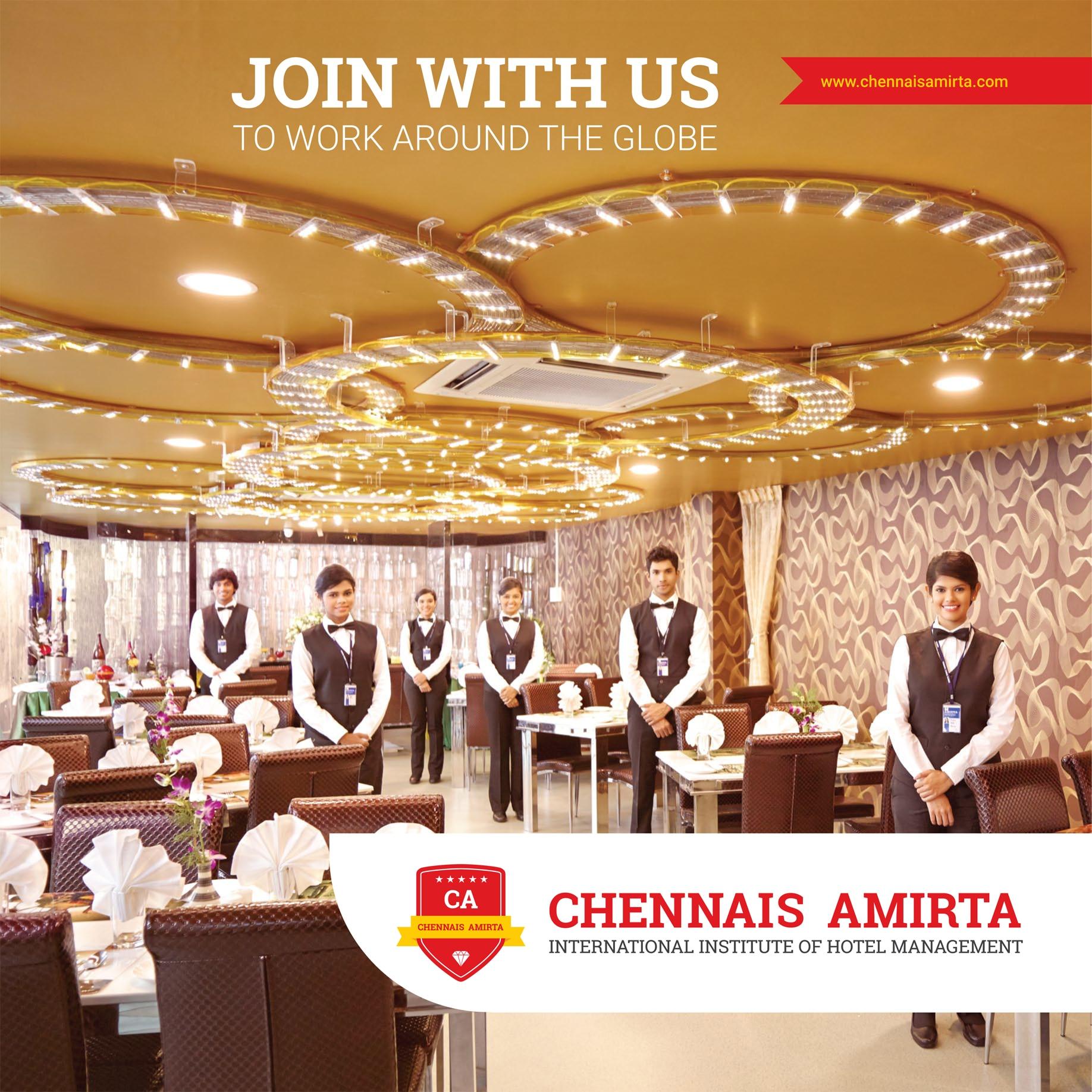 Chennais Amirta Hotel Management In Chennai ,Chennais -2199