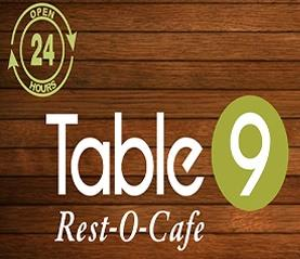 Table 9 Rest O Cafe