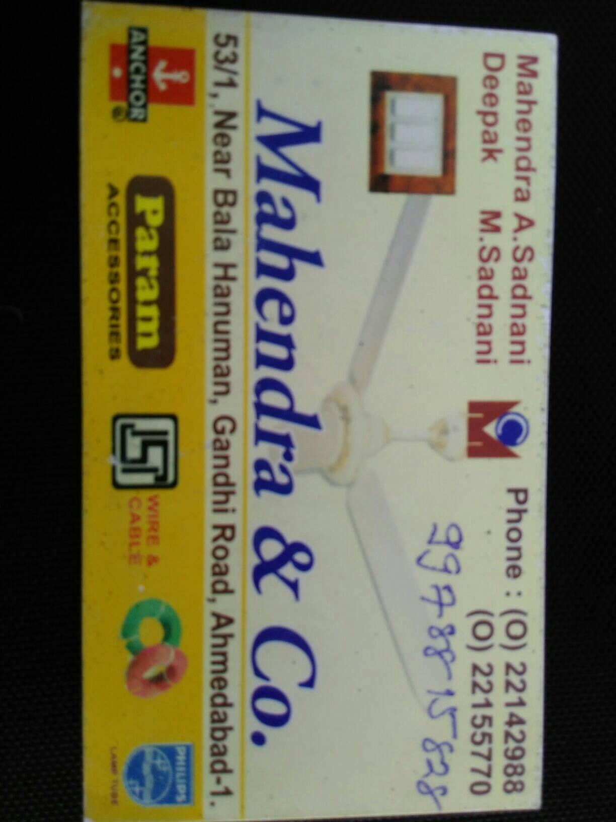Mahendra & Company