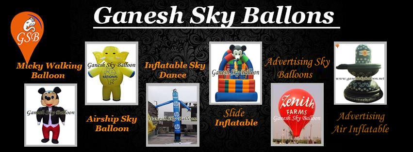 Logo of Ganesh Sky Balloon
