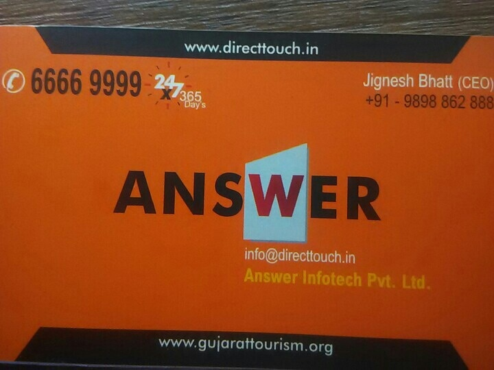 Answer Infotech I 9898862888