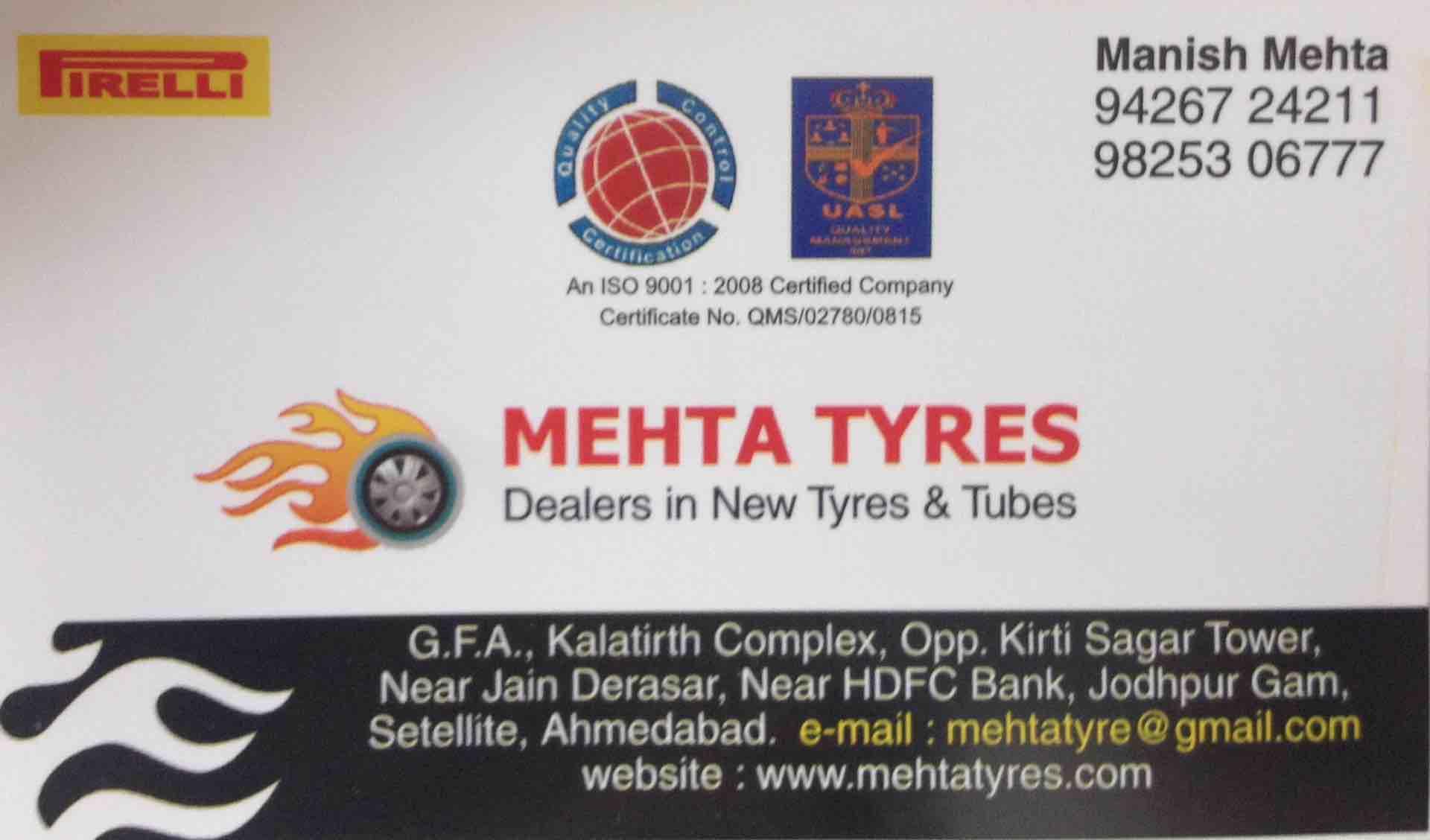 Mehta Tyres
