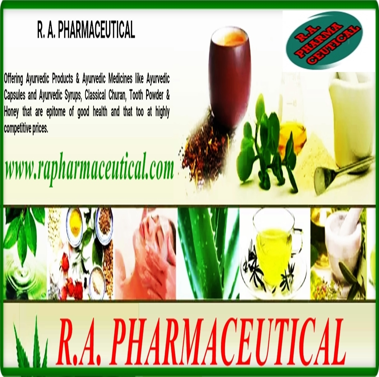 R.A. PHARMACEUTICAL COMPANY  +91 9415164613
