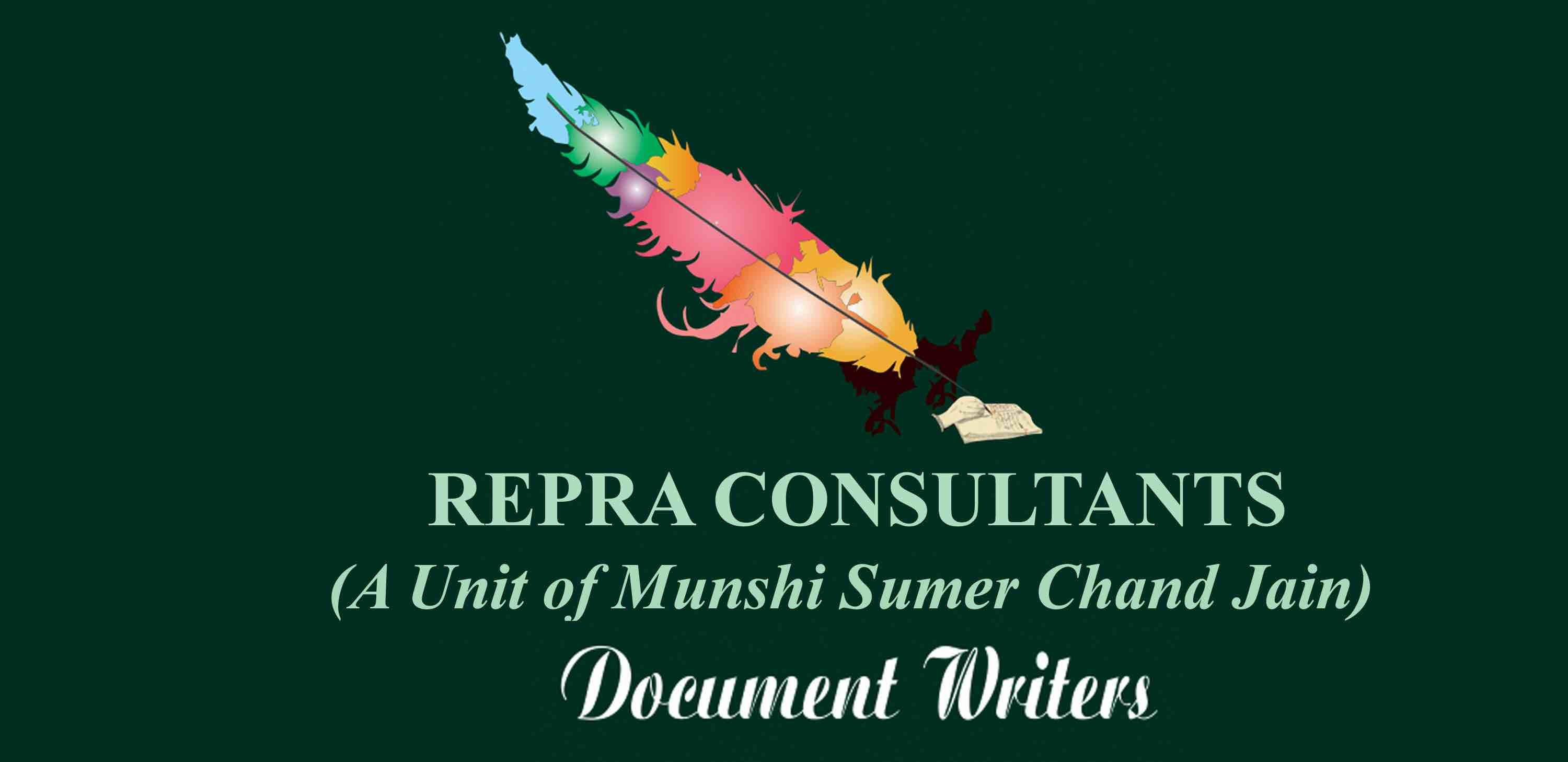 REPRA CONSULTANTS (a Unit of Munshi Sumer Chand Jain)