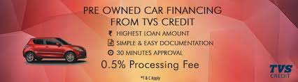 TVS CREDIT-Two Wheelers and Used Car Loans