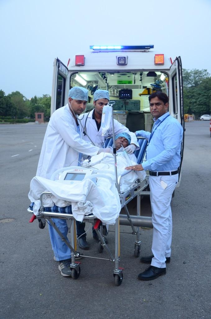 Logo of Ayushmaan Life Support Ambulance 9911700900