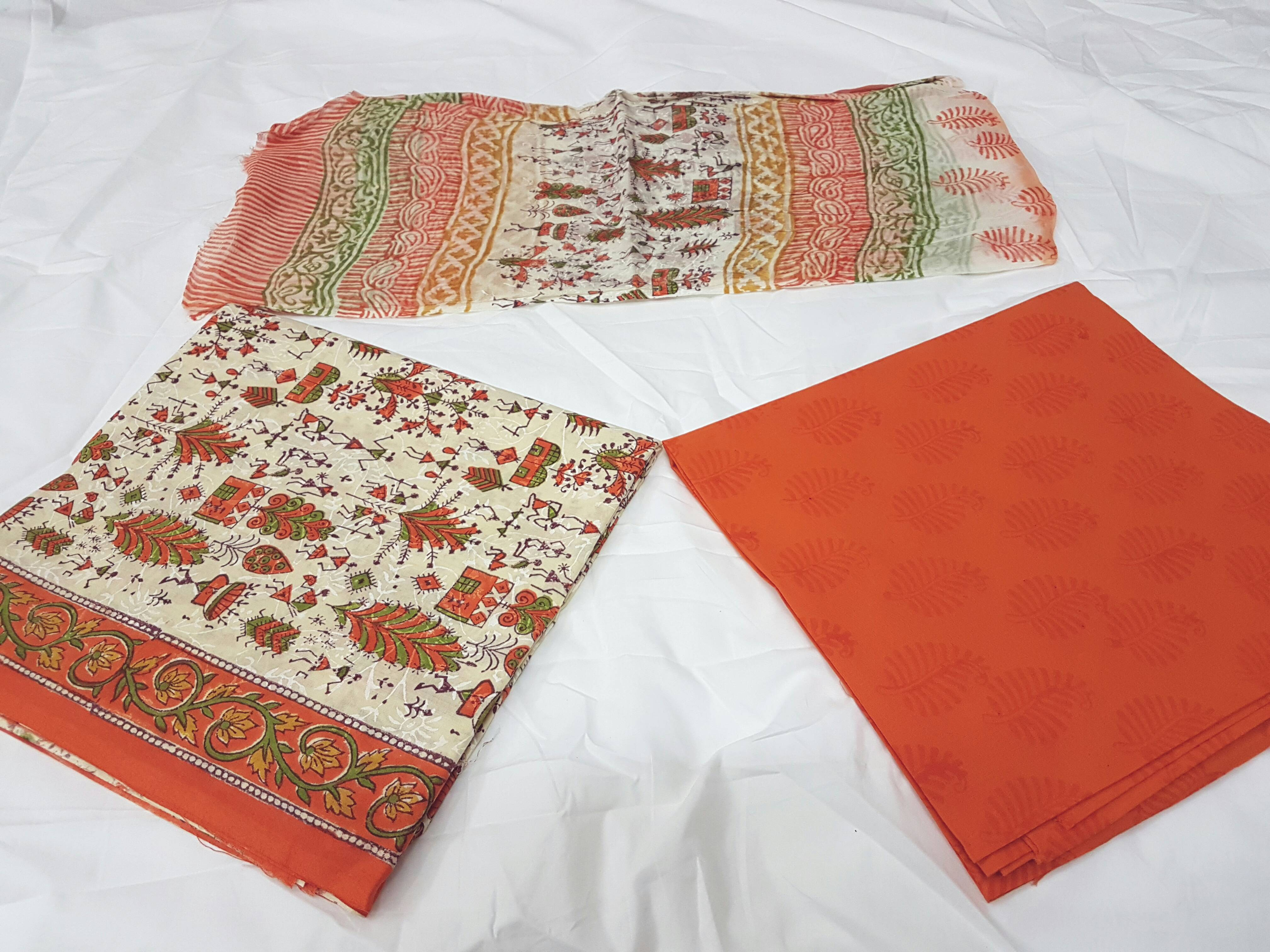 Tridev Febrics- Manufacturer of Hand Block Printed Materials