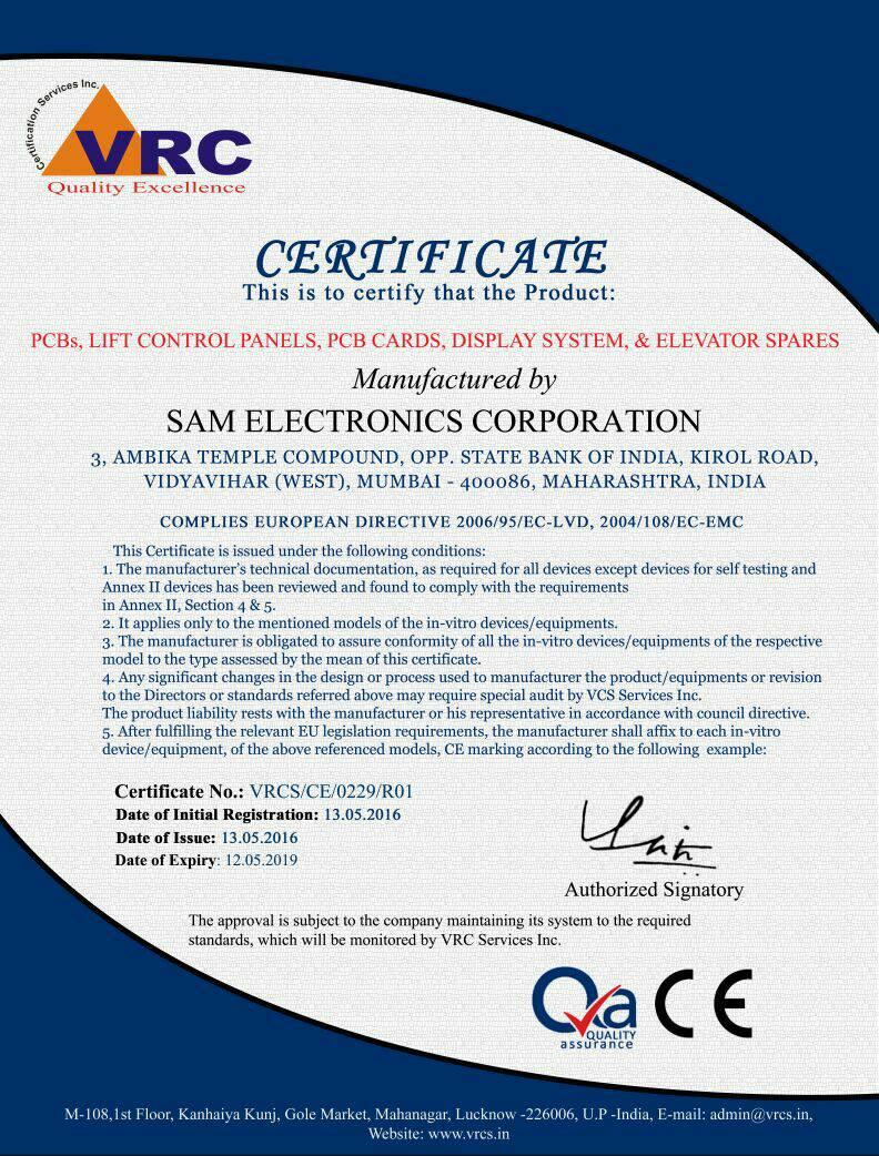 Sam Electronics Corporation