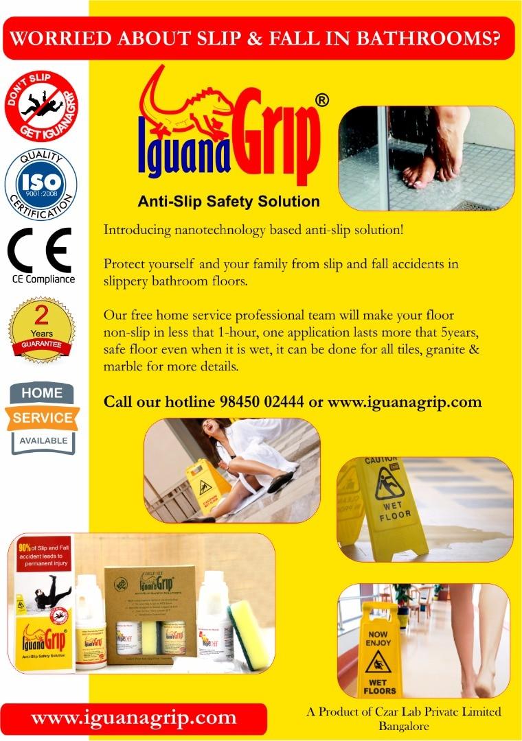 IguanaGrip Anti Slip Solutions