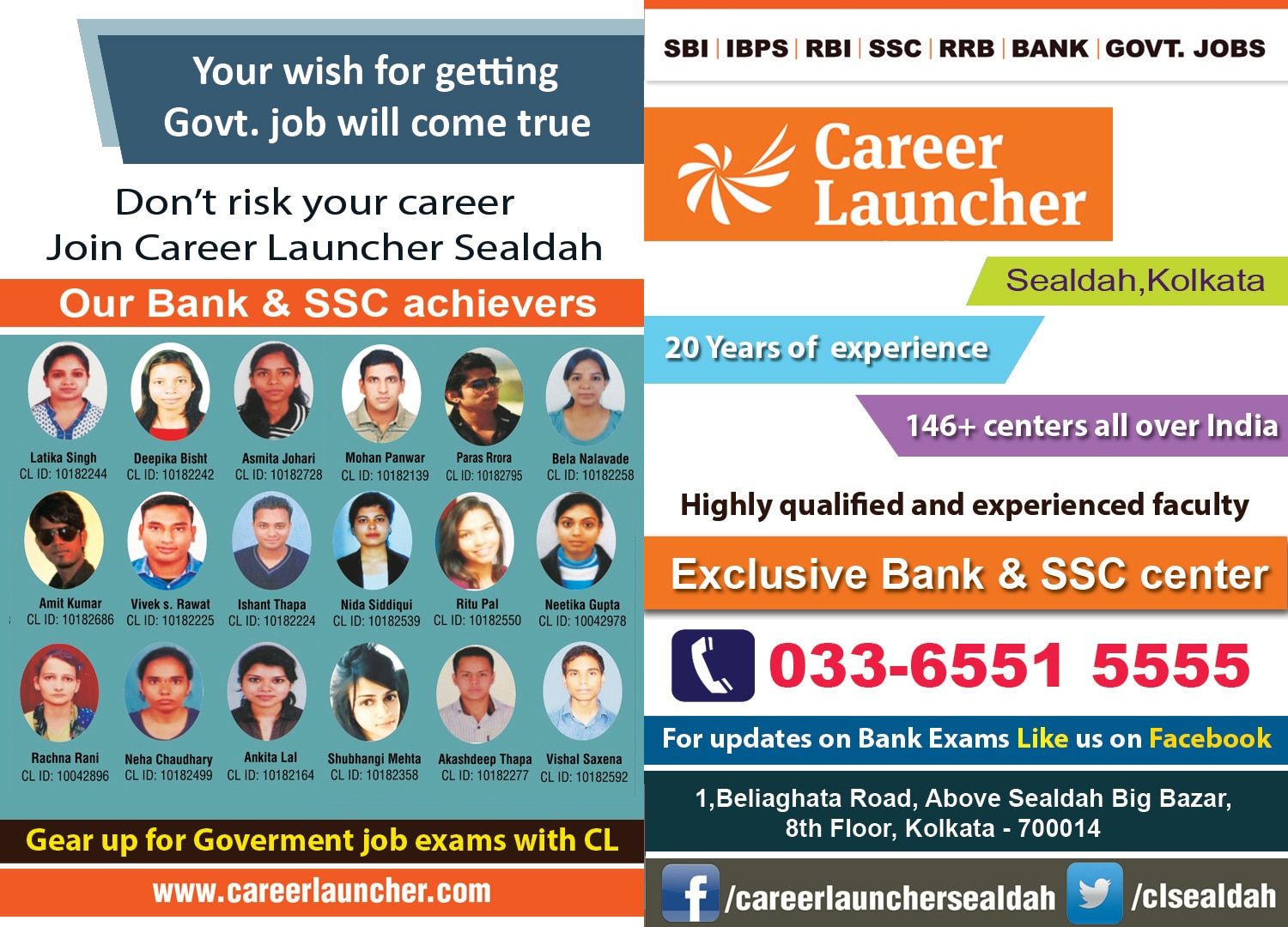 Career Launcher Sealdah