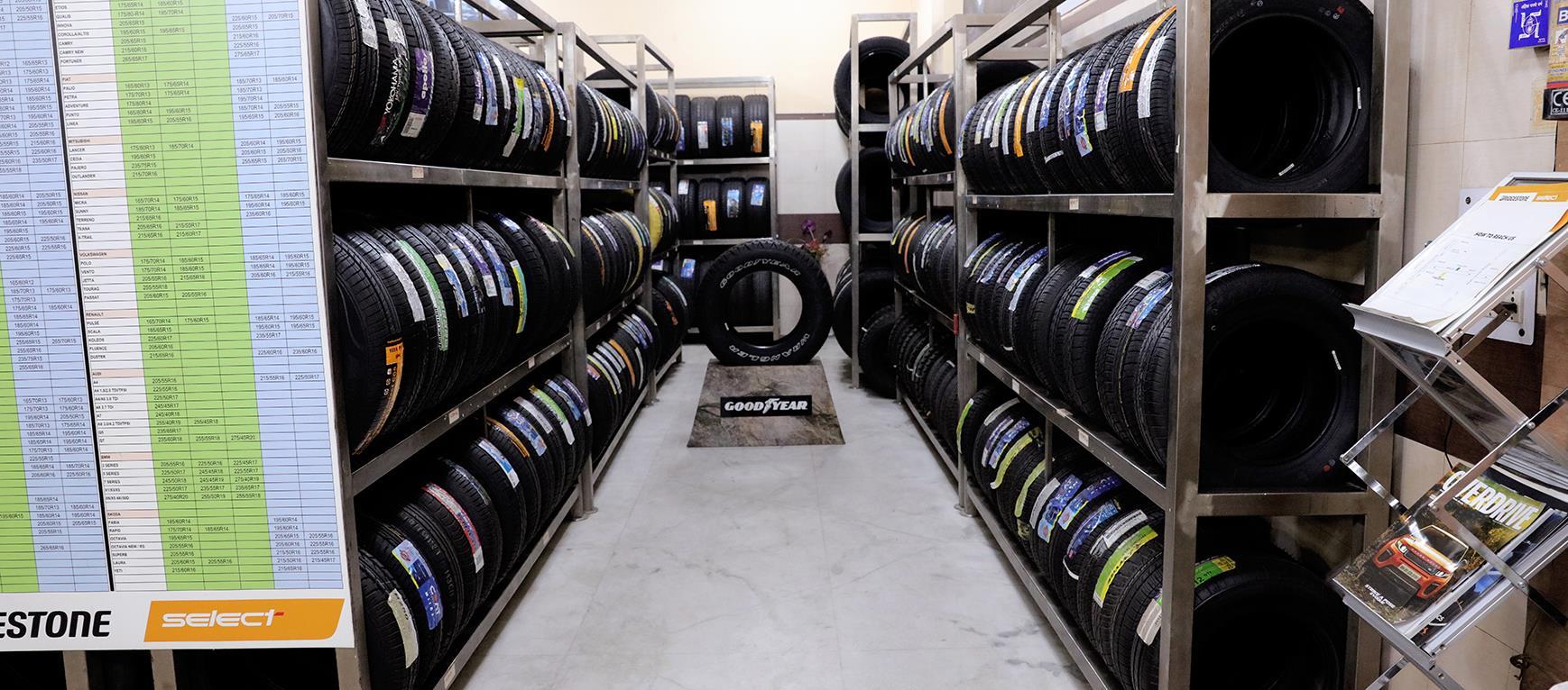 Logo of Tyres Shoppe