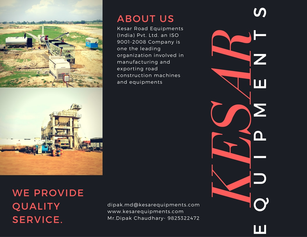 Kesar Road Equipments