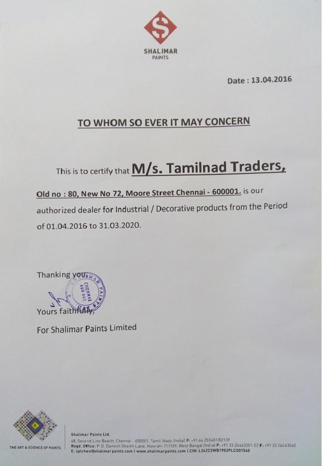 Tamilnad Traders