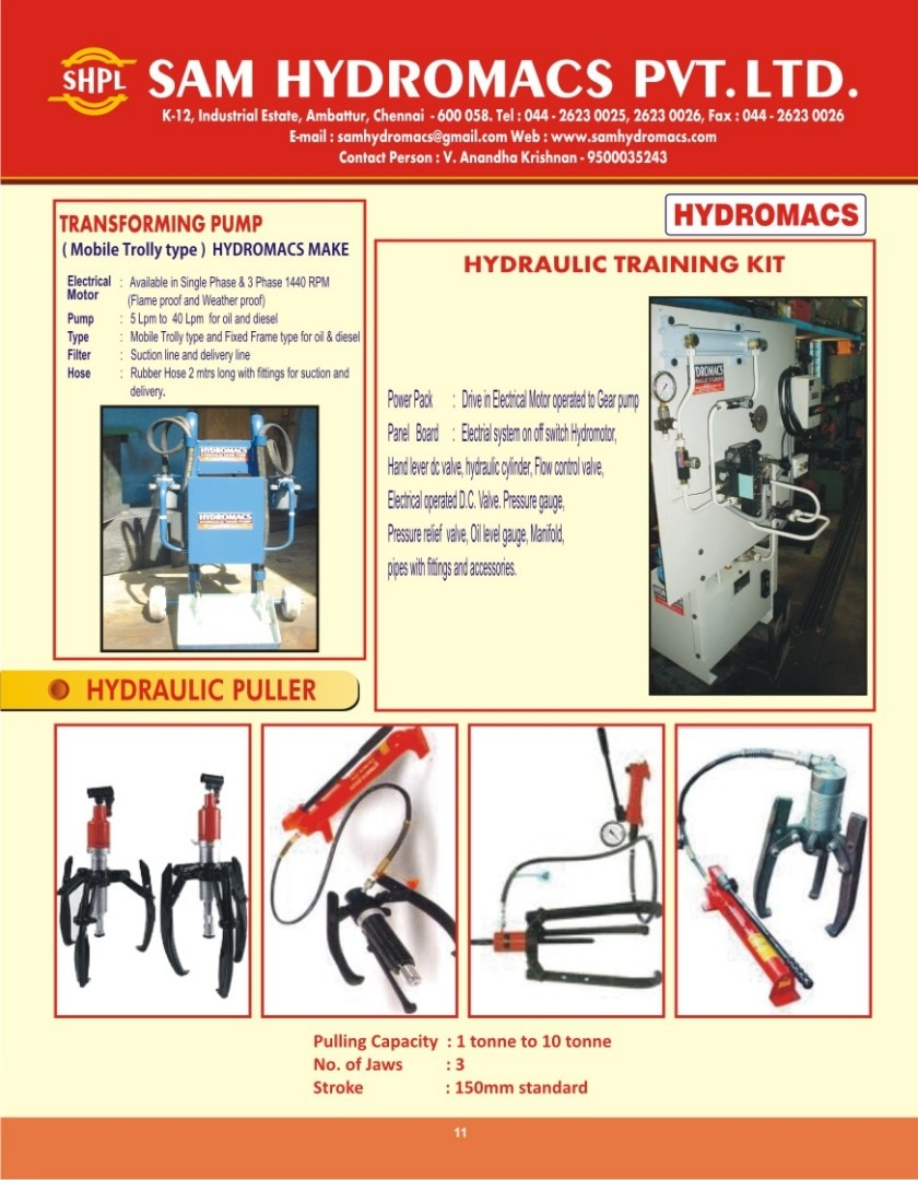 Sam Hydromacs Pvt Ltd