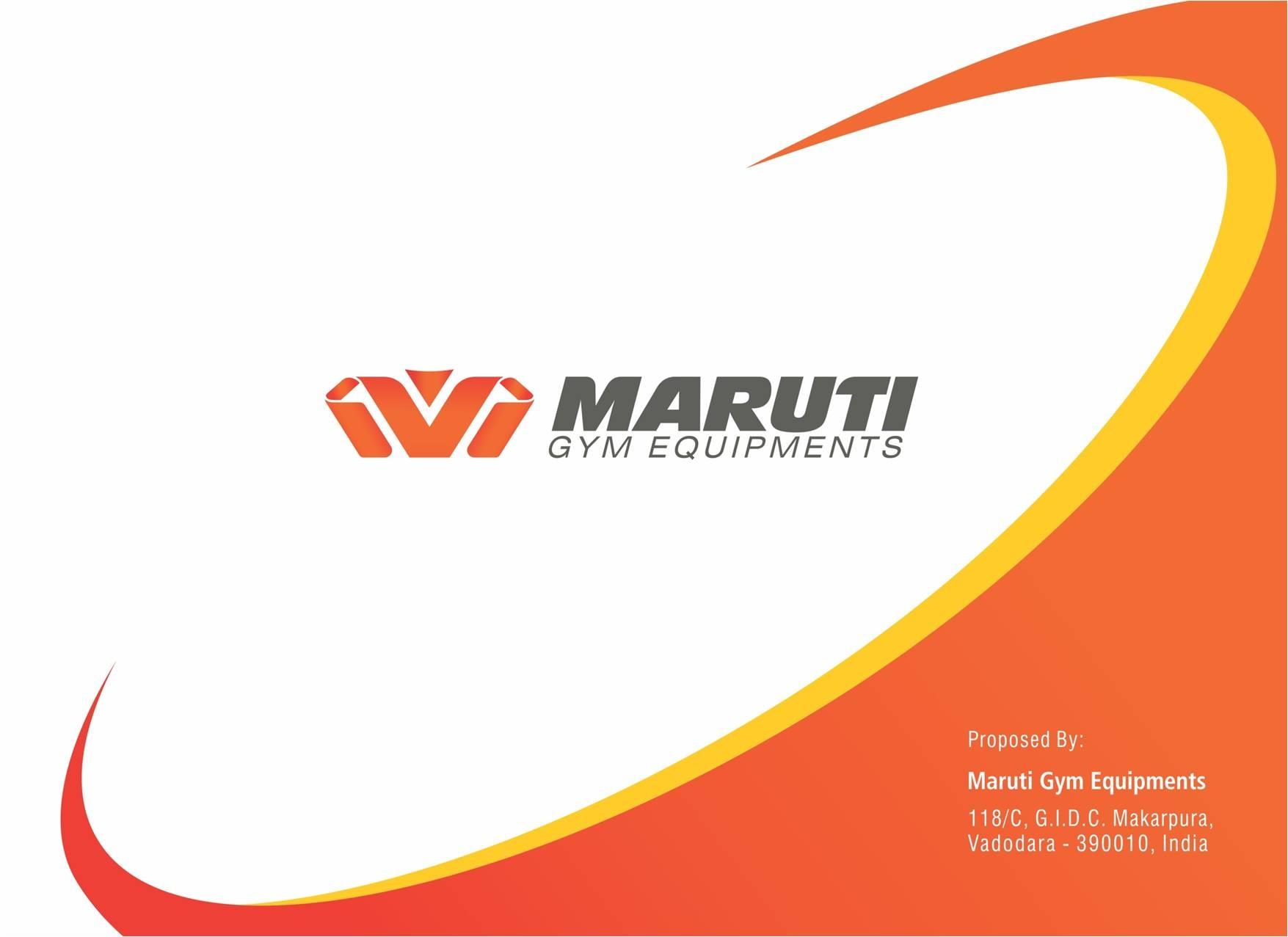 Logo of Maruti Gym Equipments