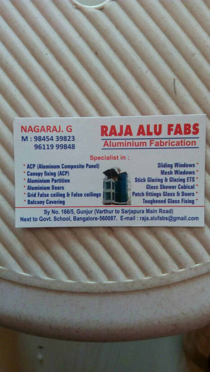Logo of Raja Alu Fabs