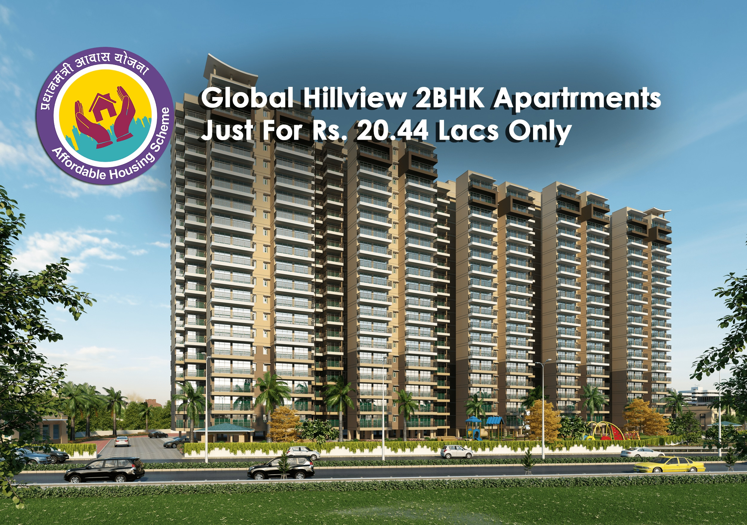 Logo of Breez Builders Developers Launches Global Hillview Apartments