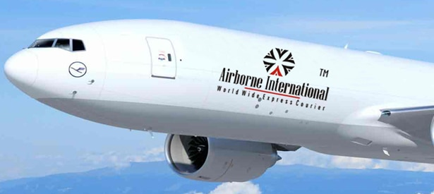 Logo of Airborne International Courier Services