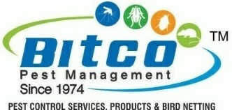 Logo of Bitco Pest Management Bird Net Installation