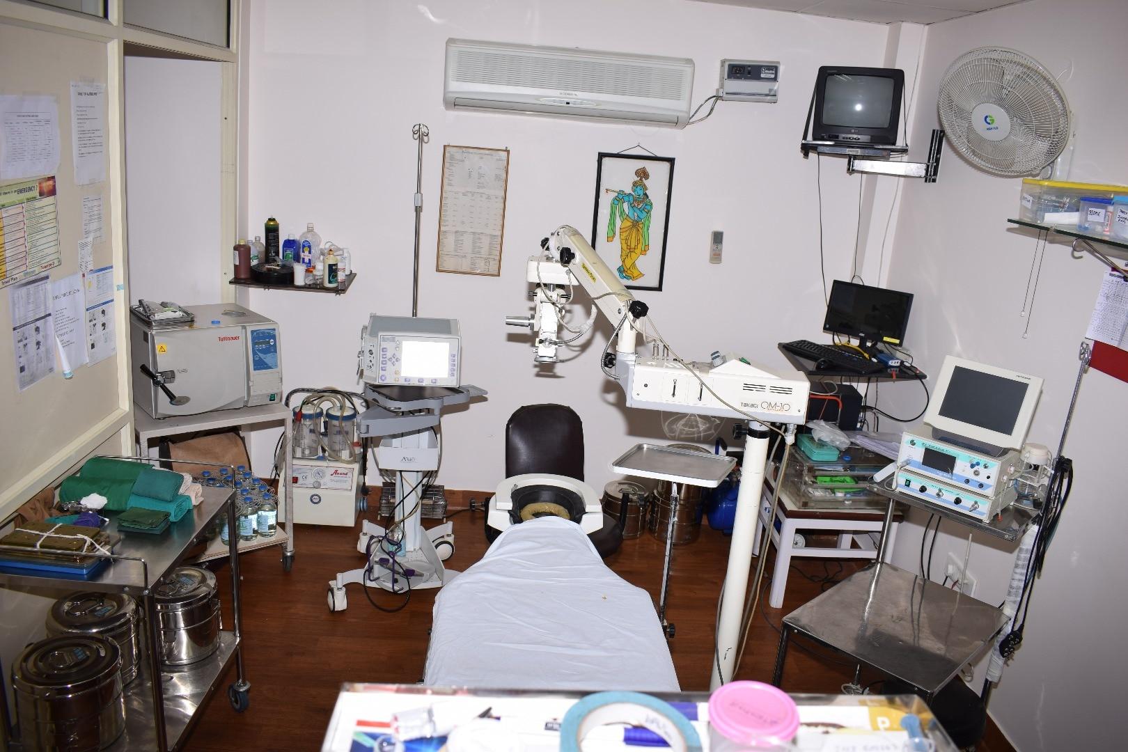 Rohini Retina Foundation ( subsidiary of Rana Eye Centre )