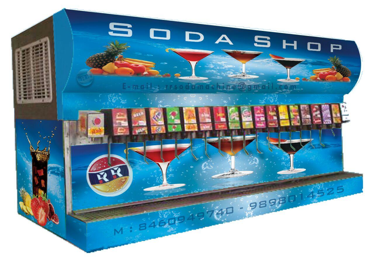 RR Soda Machine