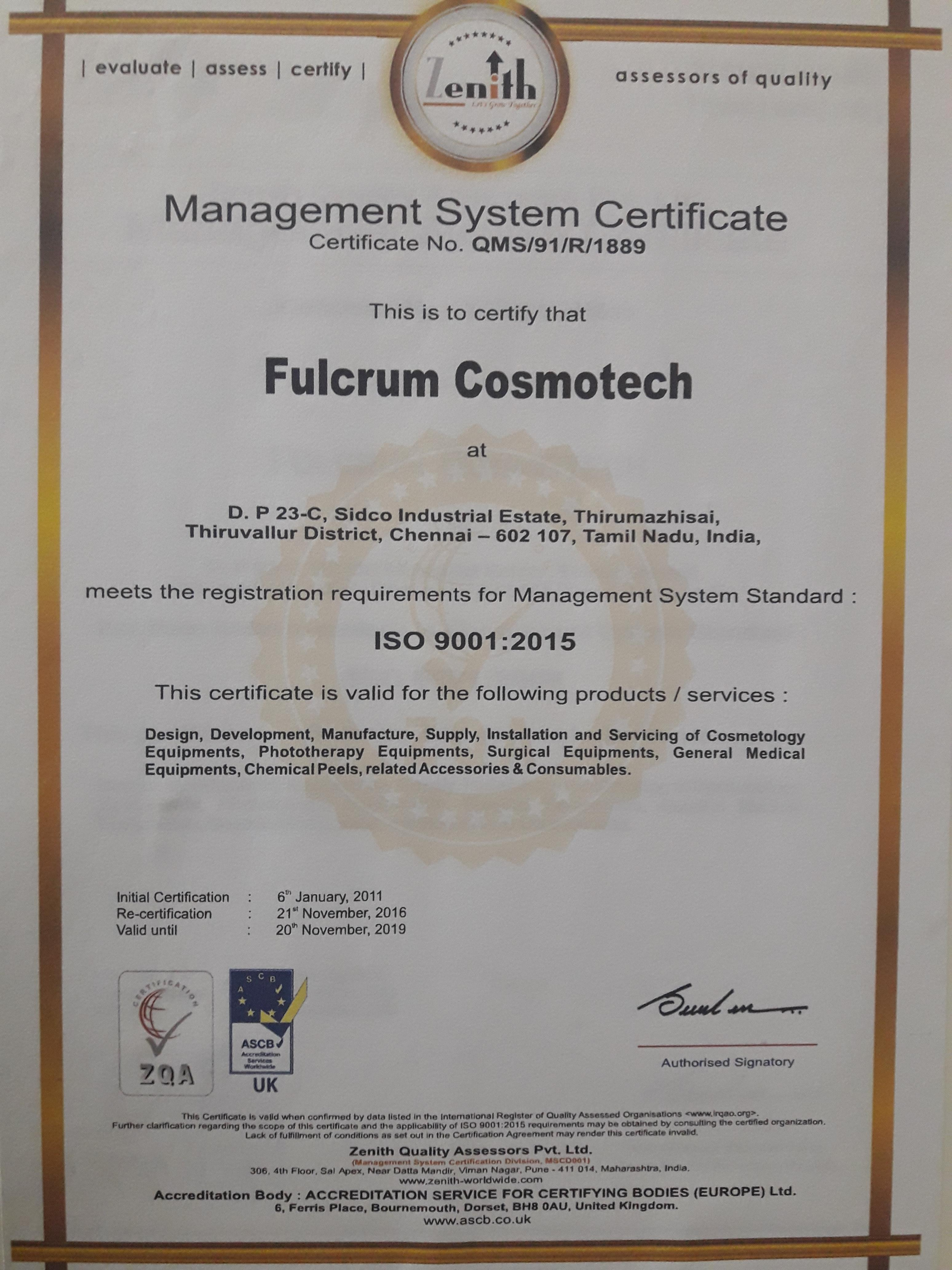 Fulcrum Cosmotech