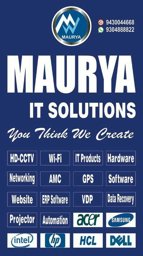 Logo of Maurya It Solutions