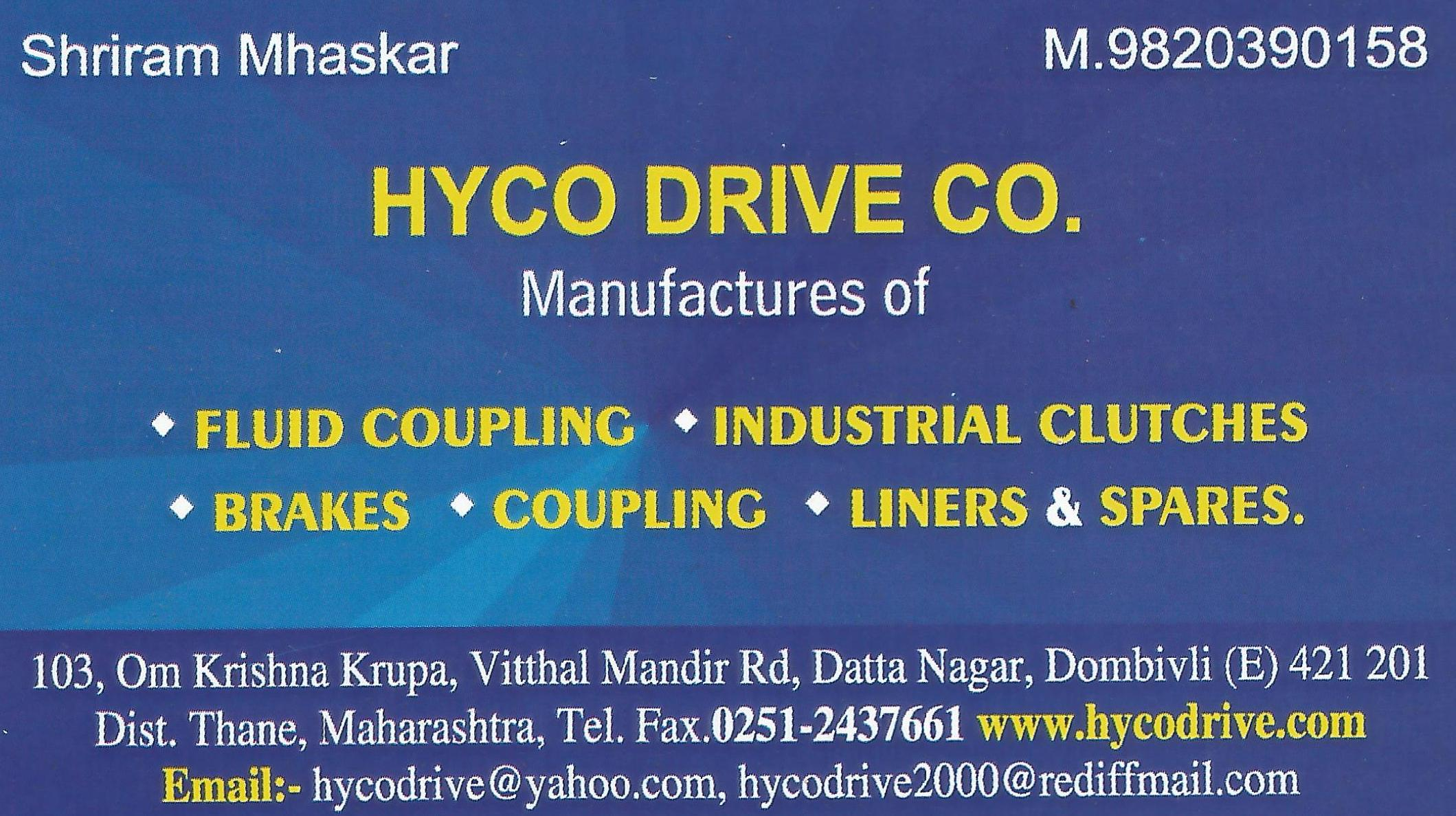 image of Hyco Drive Co.