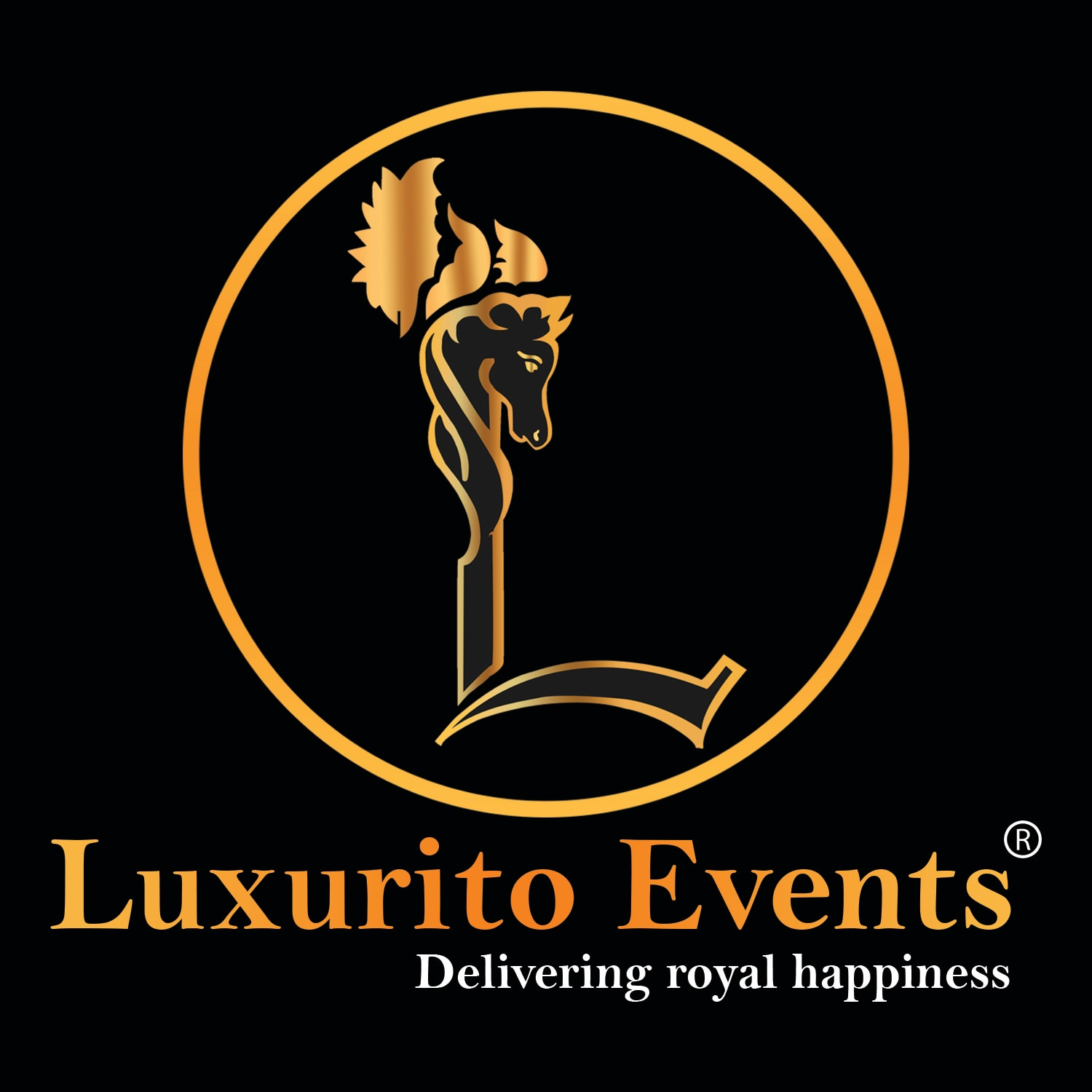 Logo of Luxurito Events