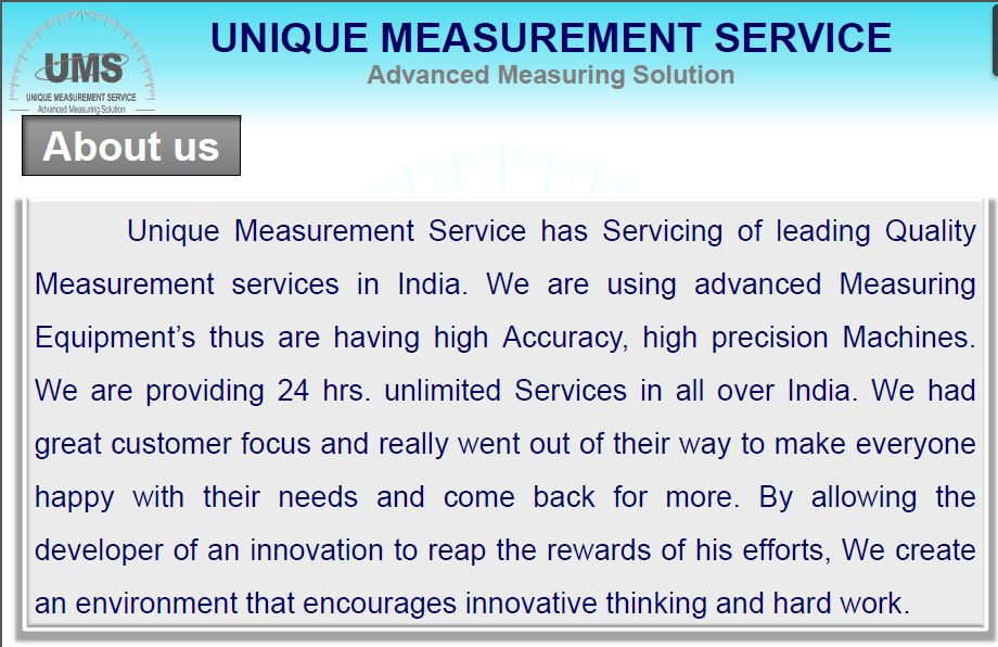 Unique Measurement Service In Chennai Cmm Inspection